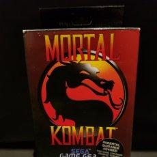 Videojuegos y Consolas: JUEGO MORTAL KOMBAT PARA CONSOLA SEGA GAMEGEAR. Lote 242089885