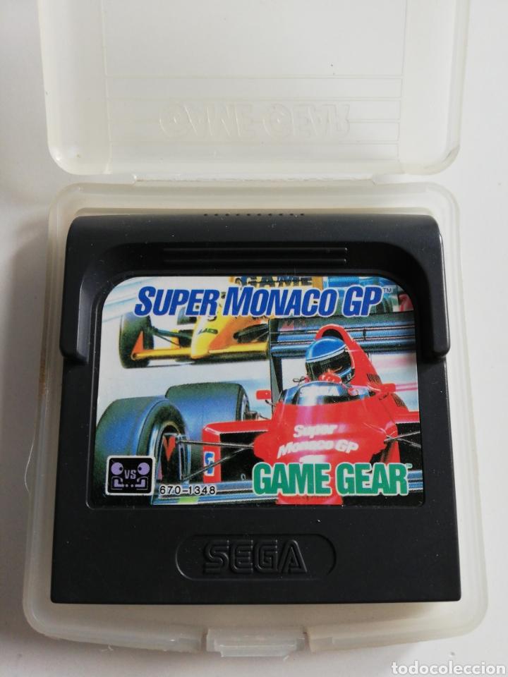 SUPER MONACO GP PARA GAME GEAR (Juguetes - Videojuegos y Consolas - Sega - GameGear)