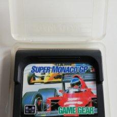 Videojuegos y Consolas: SUPER MONACO GP PARA GAME GEAR. Lote 242480780