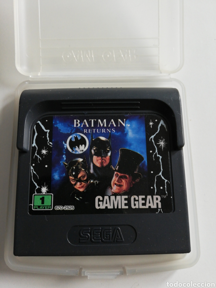 BATMAN RETURNS PARA GAME GEAR (Juguetes - Videojuegos y Consolas - Sega - GameGear)