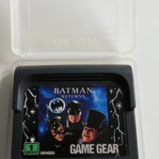 Videojuegos y Consolas: BATMAN RETURNS PARA GAME GEAR. Lote 242481325