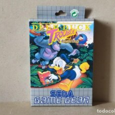 Videojuegos y Consolas: JUEGO SEGA GAME GEAR: DEEP DUCK TROUBLE. DONALD DUCK --- COMPLETO.---- GAMEGEAR. Lote 244520095