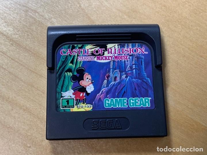MICKEY MOUSE CASTLE OF ILLUSION PARA GAME GEAR (Juguetes - Videojuegos y Consolas - Sega - GameGear)
