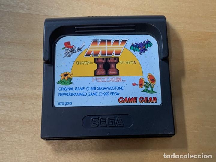 MONSTER WORLD II JAP VERSIÓN PARA GAME GEAR (Juguetes - Videojuegos y Consolas - Sega - GameGear)