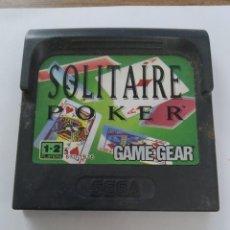 Videojuegos y Consolas: GAMEGEAR SOLITAIRE POKER / SEGA. Lote 253687190