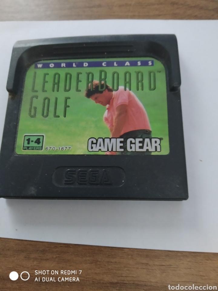 GAMEGEAR WORLD CLASS LEADER BOARD GOLF / SEGA (Juguetes - Videojuegos y Consolas - Sega - GameGear)