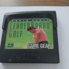 Videojuegos y Consolas: GAMEGEAR WORLD CLASS LEADER BOARD GOLF / SEGA. Lote 253687855