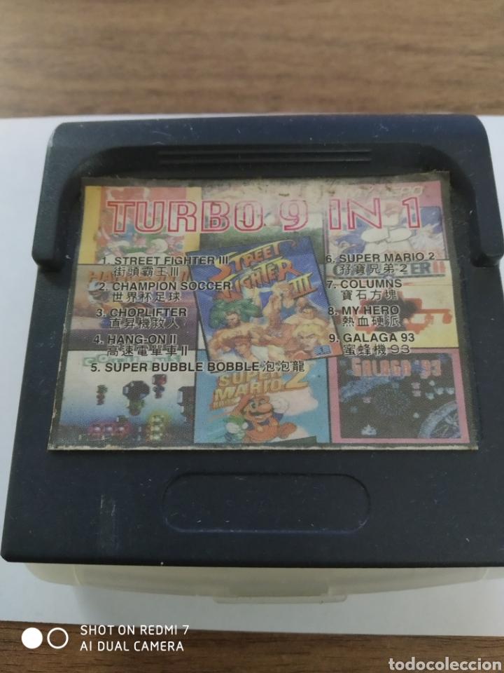 TURBO 9 IN 1 (Juguetes - Videojuegos y Consolas - Sega - GameGear)