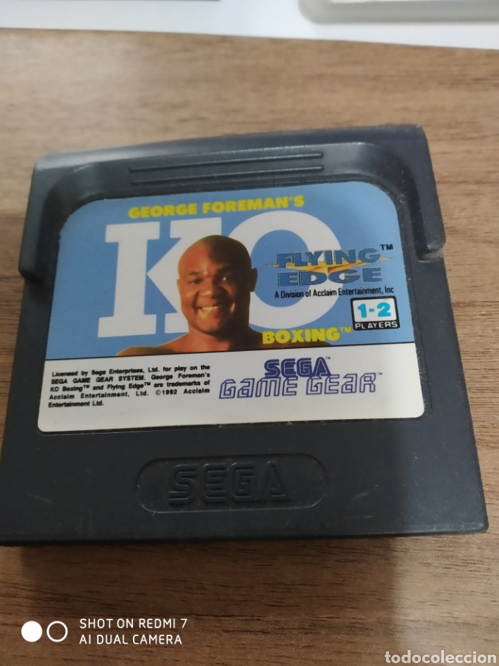 GAMEGEAR GEORGE FOREMAN'S KO / SEGA (Juguetes - Videojuegos y Consolas - Sega - GameGear)