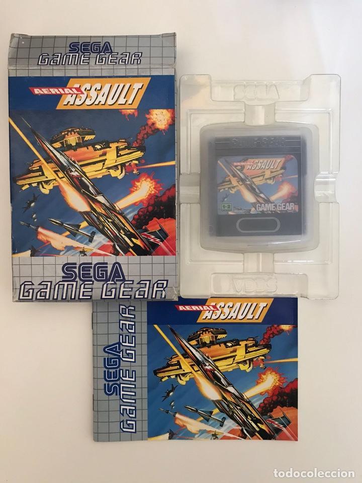 JUEGO AERIAL ASSAULT DE GAME GEAR (Juguetes - Videojuegos y Consolas - Sega - GameGear)