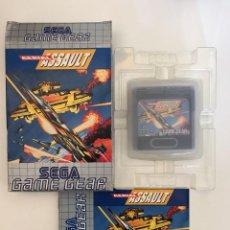 Videojuegos y Consolas: JUEGO AERIAL ASSAULT DE GAME GEAR. Lote 254122715