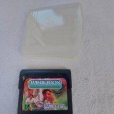 Videojuegos y Consolas: JUEGO WIMBLEDON PARA SEGA GAME GEAR. Lote 254203590