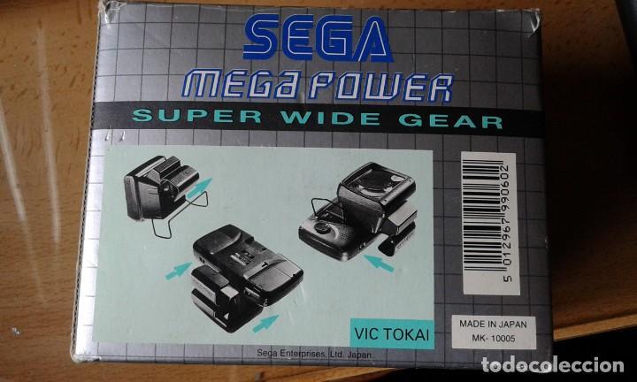 Videojuegos y Consolas: sega mega power super wide gear - LUPA - Foto 4 - 256021395
