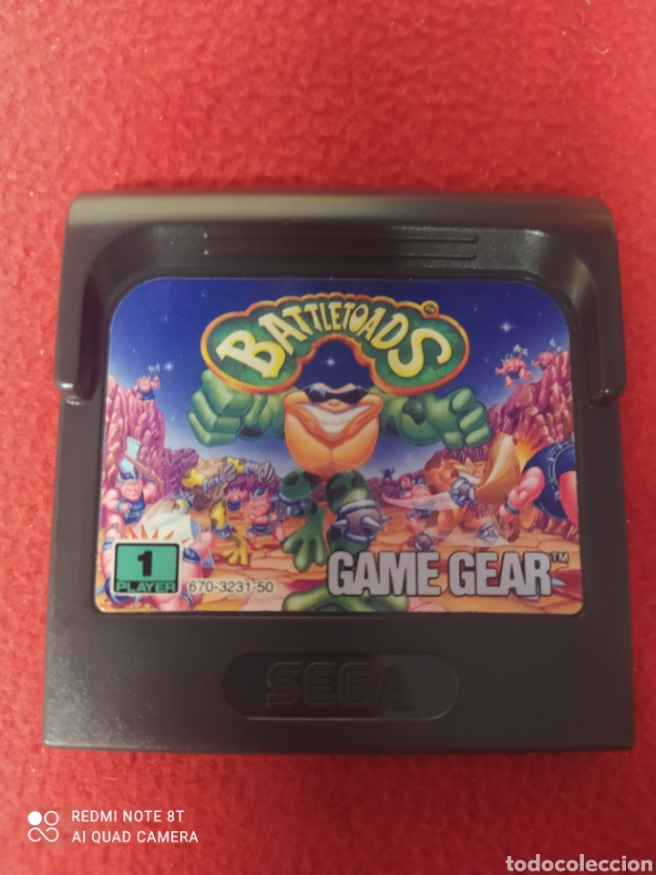 BATTLETOADS (Juguetes - Videojuegos y Consolas - Sega - GameGear)