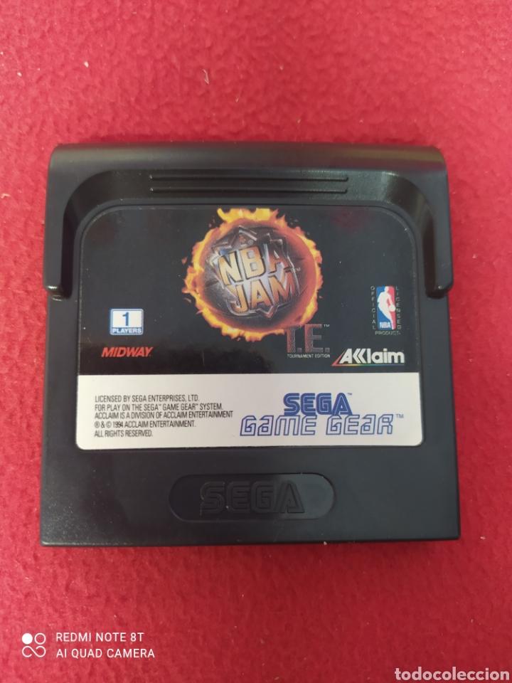 NBA JAM (Juguetes - Videojuegos y Consolas - Sega - GameGear)