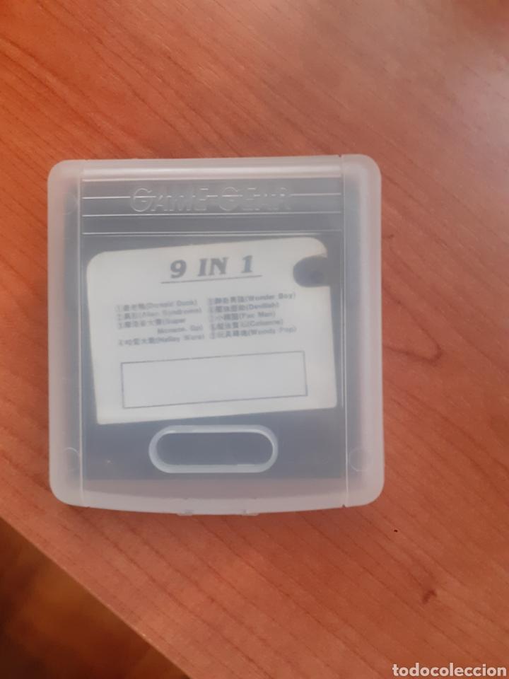 Videojuegos y Consolas: Juego game gear- 9 in 1 raro - Foto 5 - 259921680