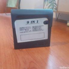 Videojuegos y Consolas: JUEGO GAME GEAR- 9 IN 1 RARO. Lote 259921680