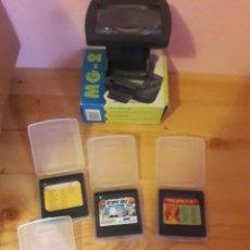 Videojuegos y Consolas: LOTE DE JUEGOS Y LUPA GAME GEAR. Lote 267316299
