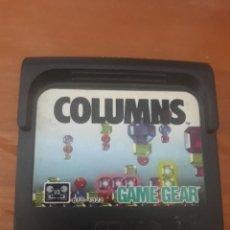 Videojuegos y Consolas: COLUMNS GAMEGEAR CARTUCHO. Lote 267506304