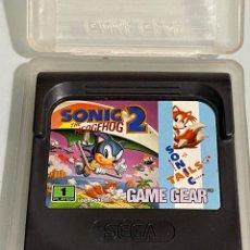 Videojuegos y Consolas: JUEGO SEGA GAME GEAR SONIC 2 THE HEDGEHOG. Lote 267681999
