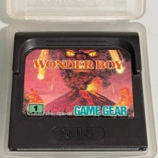 Videojuegos y Consolas: JUEGO SEGA GAME GEAR WONDER BOY. Lote 267682504