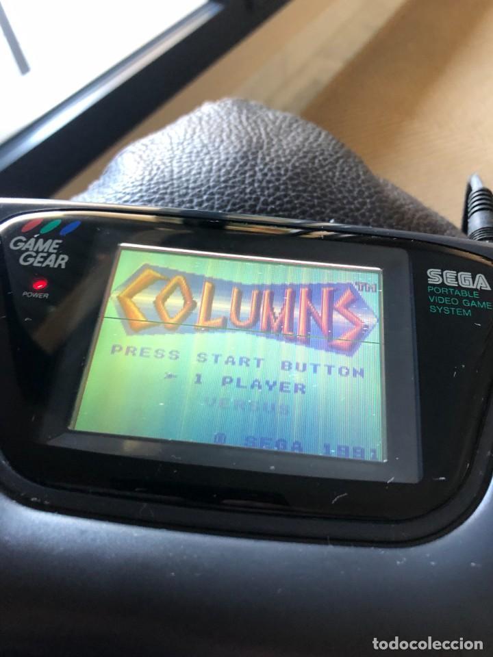Videojuegos y Consolas: SEGA GAME GEAR CONSOLA CON CAJA Y MANUALES FUNCIONANDO VER PANTALLA - Foto 8 - 267744849