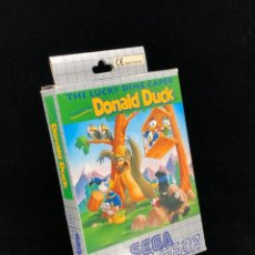 Videojuegos y Consolas: SEGA GAME GEAR DONALD DUCK THE LUCKY DIME CAPER IMPECABLE ESTADO COLECCIONISTA GAMEGEAR. Lote 267745749