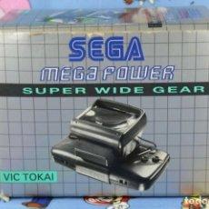Videojuegos y Consolas: SEGA GAME GEAR MEGA POWER SUPER WIDE MUY BUEN ESTADO VERSION EUROPEA VIC TOKAI. Lote 270178043