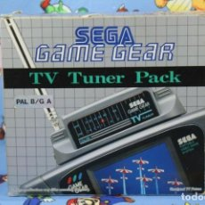 Videojuegos y Consolas: SEGA GAME GEAR TV TUNER PACK CON CAJA MUY BUEN ESTADO VERSION EUROPEA. Lote 270178328