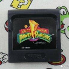 Videojuegos y Consolas: SEGA GAME GEAR MIGHTY MORPHIN POWER RANGERS ORIGINAL SOLO CARTUCHO PAL EUR. Lote 271380208