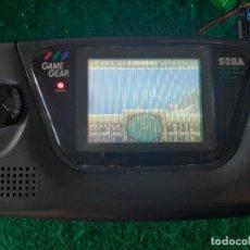 Videojuegos y Consolas: SEGA GAME GEAR RESTAURADA CARGADOR ORIGINAL Y JUEGO. Lote 275759023