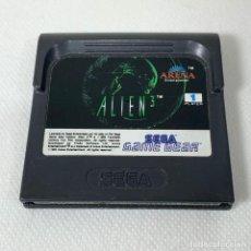 Videojuegos y Consolas: VIDEOJUEGO SEGA - GAME GEAR - GAMEGEAR - ALIEN 3. Lote 276274743