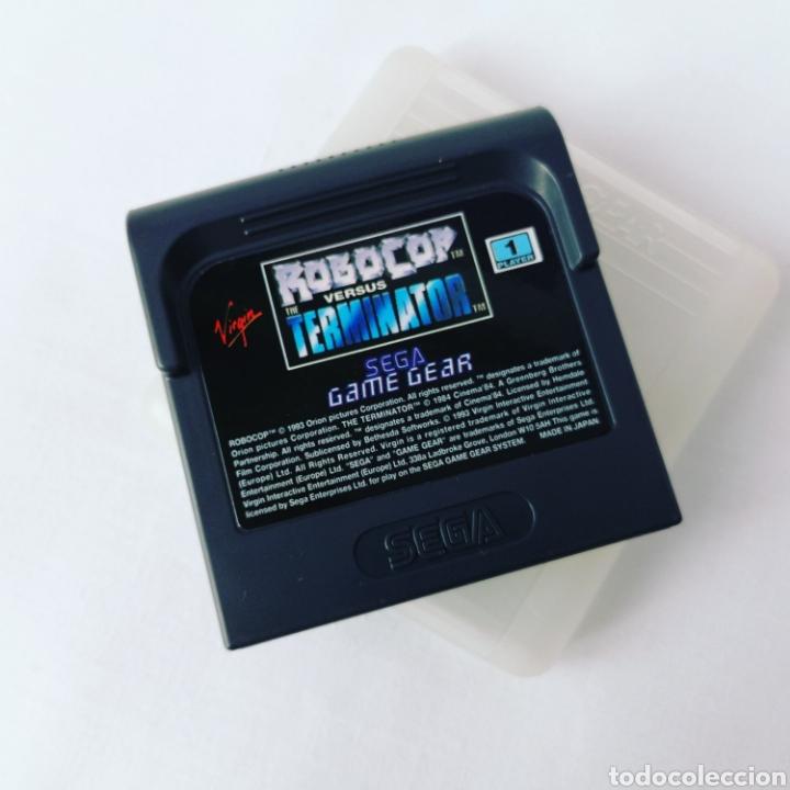 SEGA ROBOCOP VS THE TERMINATOR (Juguetes - Videojuegos y Consolas - Sega - GameGear)