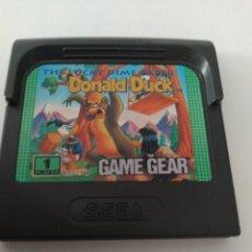 Videojuegos y Consolas: DONALD DUCK SEGA GAME GEAR ORIGINAL 100%. Lote 277125193