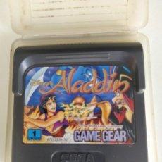 Videojuegos y Consolas: ALADDIN SEGA GAME GEAR ORIGINAL 100%. Lote 287109998
