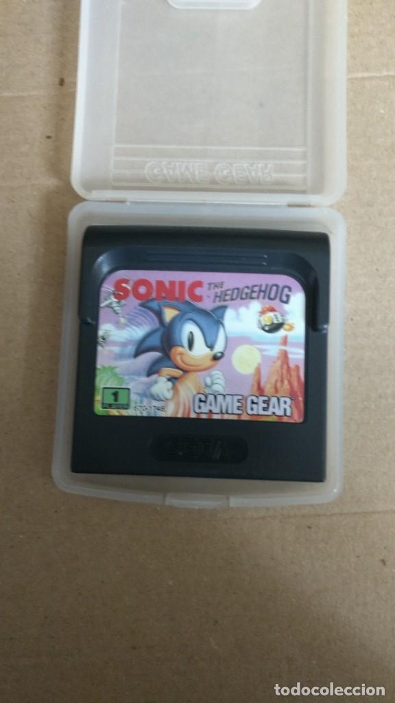 JUEGO SONIC THE HEDGEHOG GAME GEAR SEGA (Juguetes - Videojuegos y Consolas - Sega - GameGear)
