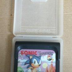 Videojuegos y Consolas: JUEGO SONIC THE HEDGEHOG GAME GEAR SEGA. Lote 288713778