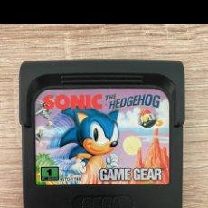 Videojuegos y Consolas: SONIC SEGA GAME GEAR PAL. Lote 289513213