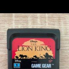Videojuegos y Consolas: EL REY LEON SEGA GAME GEAR PAL. Lote 289513428