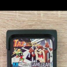 Videojuegos y Consolas: TAZ IN ESCAPE FROM MARS SEGA GAME GEAR PAL. Lote 289513618