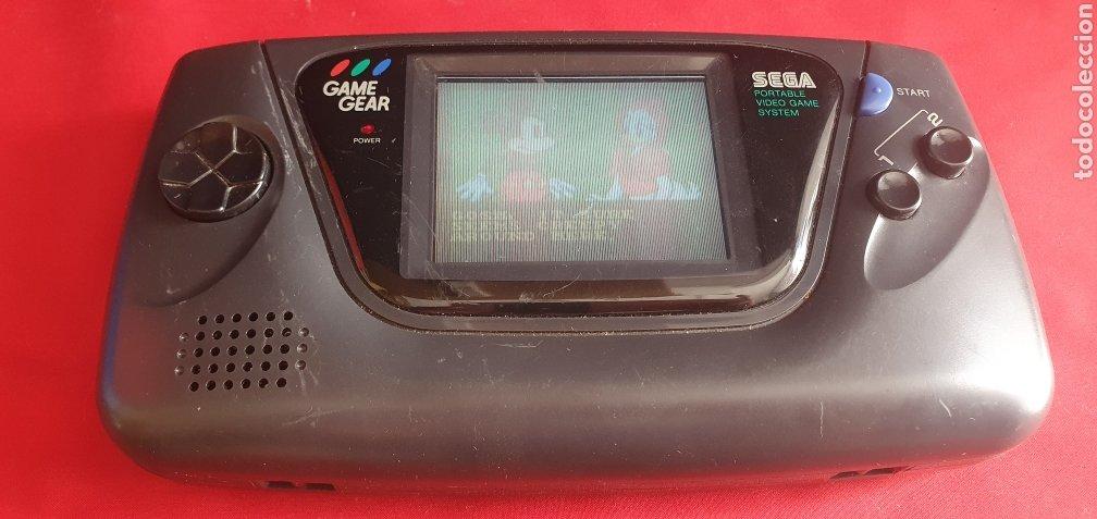 CONSOLA SEGA GAME GEAR +JUEGO FUNCIONA PERO NO SE ESCUCHE EL SONIDO (Juguetes - Videojuegos y Consolas - Sega - GameGear)