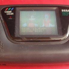Videojuegos y Consolas: CONSOLA SEGA GAME GEAR +JUEGO FUNCIONA PERO NO SE ESCUCHE EL SONIDO. Lote 289825903
