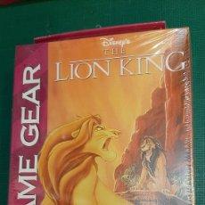 Videojuegos y Consolas: GAME GEAR SEGA LION KING DISNEY PRECINTO. Lote 289895103