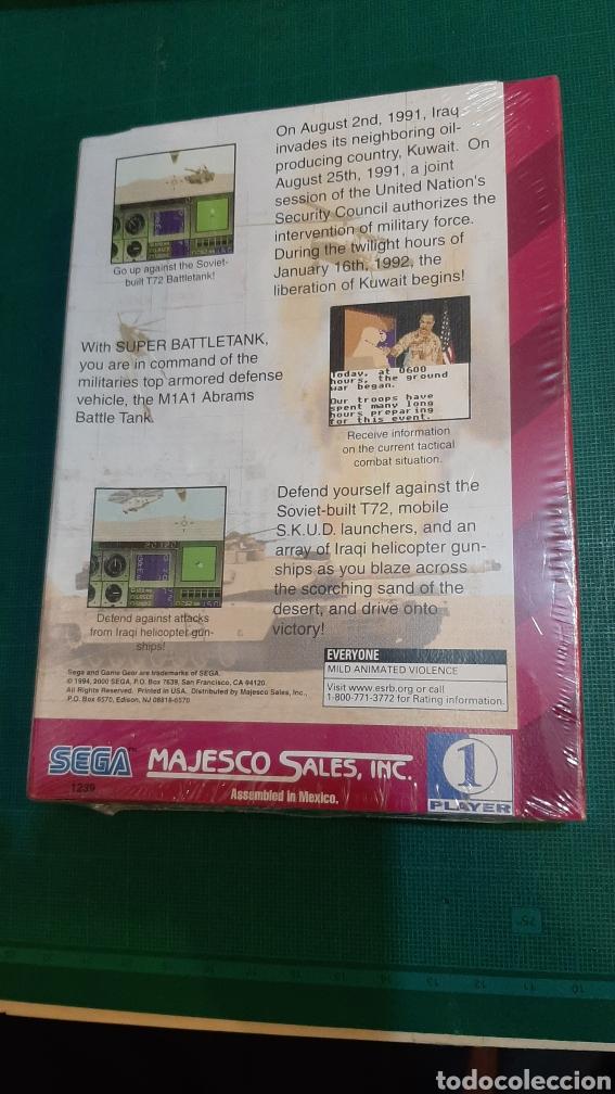 Videojuegos y Consolas: GANE GEAR SUOER BATTLETANK SEGA PRECITADO - Foto 2 - 289895543