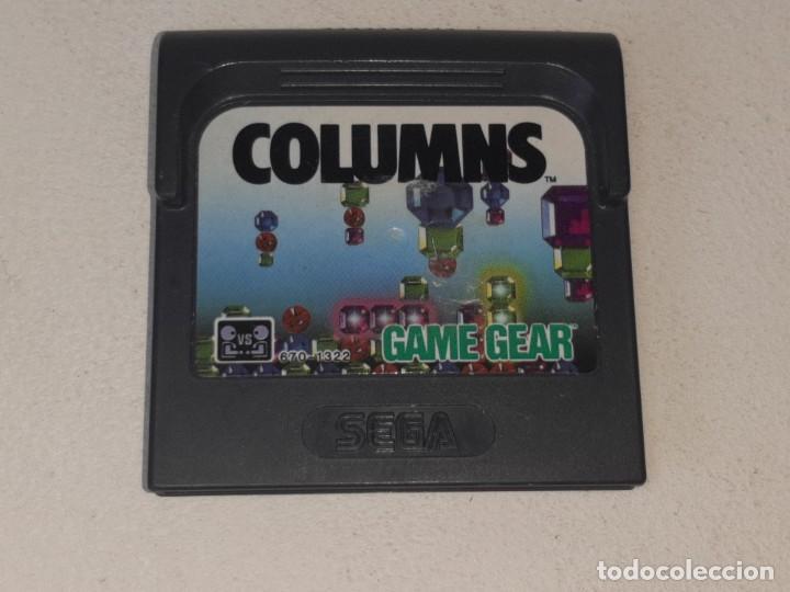 GAME GEAR SEGA : ANTIGUO JUEGO COLUMNS MADE IN JAPAN AÑO 1989 (Juguetes - Videojuegos y Consolas - Sega - GameGear)