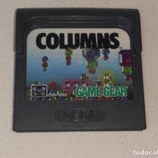 Videojuegos y Consolas: GAME GEAR SEGA : ANTIGUO JUEGO COLUMNS MADE IN JAPAN AÑO 1989. Lote 290007743