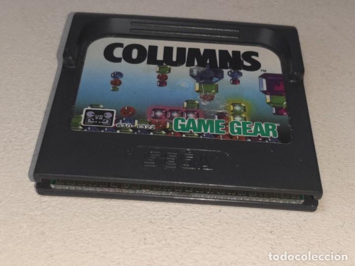 Videojuegos y Consolas: GAME GEAR SEGA : ANTIGUO JUEGO COLUMNS MADE IN JAPAN AÑO 1989 - Foto 3 - 290007743