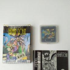 Videojuegos y Consolas: BATMAN Y ROBIN GAME GEAR. Lote 291318953