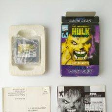 Videojuegos y Consolas: HULK GAME GEAR. Lote 291324583