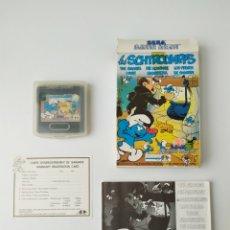 Videojuegos y Consolas: LOS PITUFOS GAME GEAR. Lote 291326343